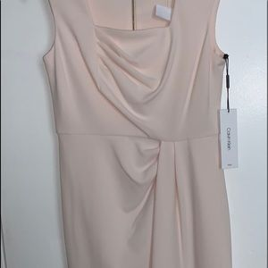 Very Pale pink  cocktail dress Size 6p